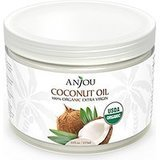 Anjou Coconut Oil, Organic Extra Virgin