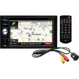 Boss BVNV9384RC In-Dash Double-DIN 6.2-Inch Touchscreen Monitor