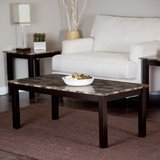 Finley Home Palazzo Faux Marble Coffee Table