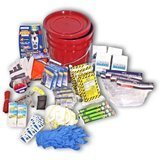 Ready America 4-Person 3-Day Deluxe Emergency Kit in a Bucket