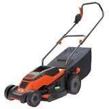 "Black+Decker EM1500 15"" Corded Mower with Edge Max, 10-Amp"