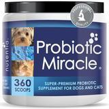 NUSENTIA Miracle Probiotic for Dogs