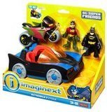 Fisher-Price Imaginext DC Super Friends: Batmobile & Cycle