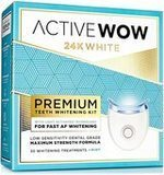 Active Wow Teeth Whitening Premium Kit with LED Light