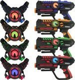 ArmoGear Laser Tag Guns with Vests Set of 4