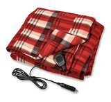 "Camco 12V Heated Travel Blanket, 59""  x 43"""
