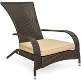Best Choice Products Wicker Adirondack Chair