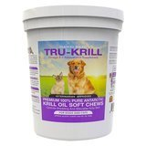Hanzi Pets Tru-Krill Omega-3 + Astaxanthin Supplement Chews