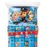 Paw Patrol Chase Twin MicroFiber Flannel Sheets