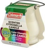 Coleman Color-Changing LED Outdoor Citronella Candle