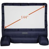 Gemmy 12 ft. Deluxe Airblown Movie Screen with Storage Bag
