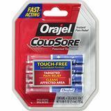 Orajel Touch-Free Cold Sore Patented Treatment, with Applicator