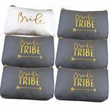 Heather & Willow Bride Tribe Canvas Cosmetic Bag
