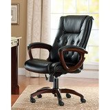 Better Homes and Gardens Bonded Leather Executive Chair