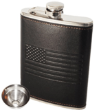 OUTZIE American Flag Flask (8 oz.)
