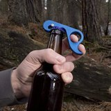 GrOpener One Handed Aluminum Magnetic BOTTLE CAN OPENER