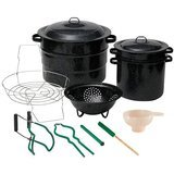 Granite Ware 12-Piece Canning Set, Black