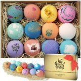 LifeAround2Angels Bath Bombs Gift Set,12 Count