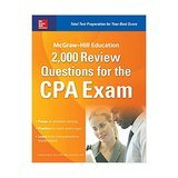 McGraw-Hill Education 2,000 Review Questions for the CPA Exam, 1st Edition