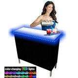 PartyPongTables Portable Folding Party Bar