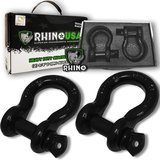Rhino USA D-Ring Shackle (2 Pack)