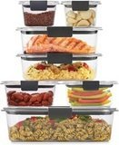 Rubbermaid Brilliance Storage Food Containers