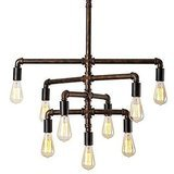 SEOL Light Barn Adjustable Pipe Chandelier