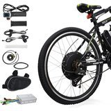 "Voilamart Electric Bicycle Kit 26"" Rear Wheel 48V 1000W E-bike Conversion Kit"
